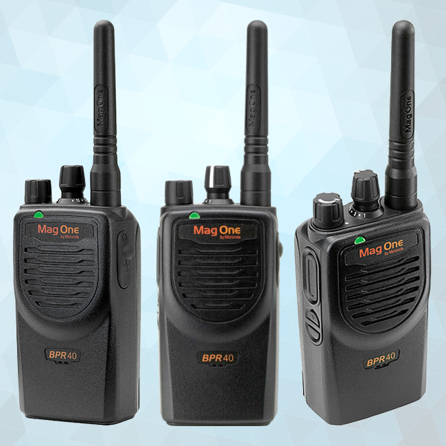 Mag One BPR40 Portable Two-Way Radio